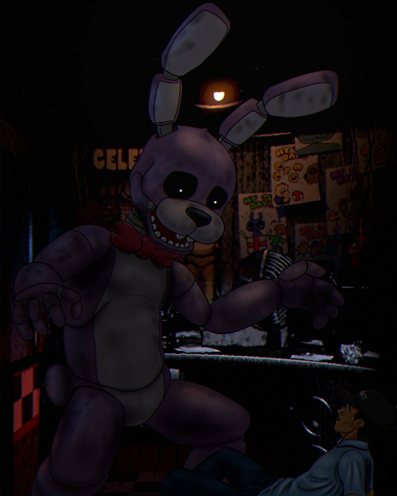 Mike's Bonnie encounter | Five Nights at Freddy's | Know ...