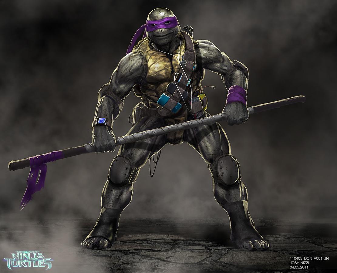 original concept art for tmnt donny teenage mutant ninja