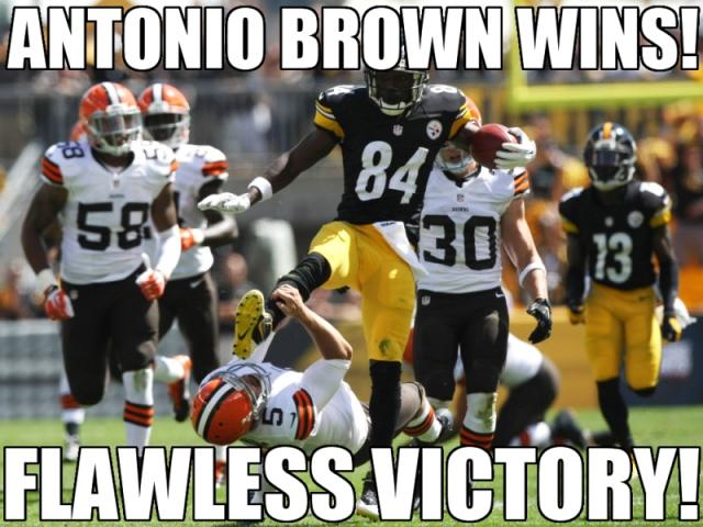 Wrong sport, Antonio. ...