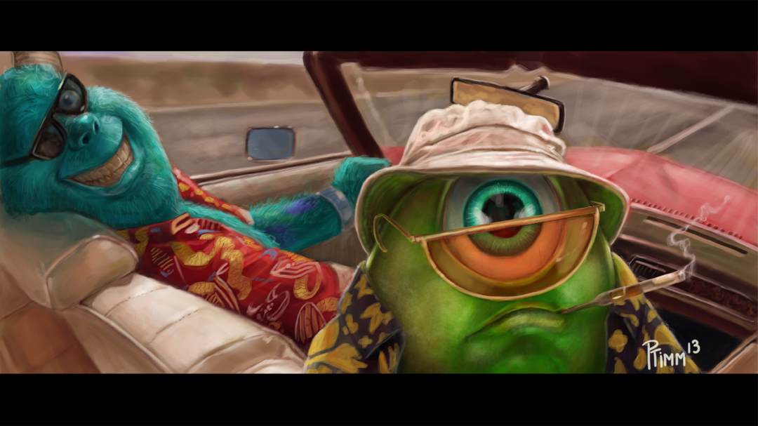 Fear And Loathing In Monsters Inc.