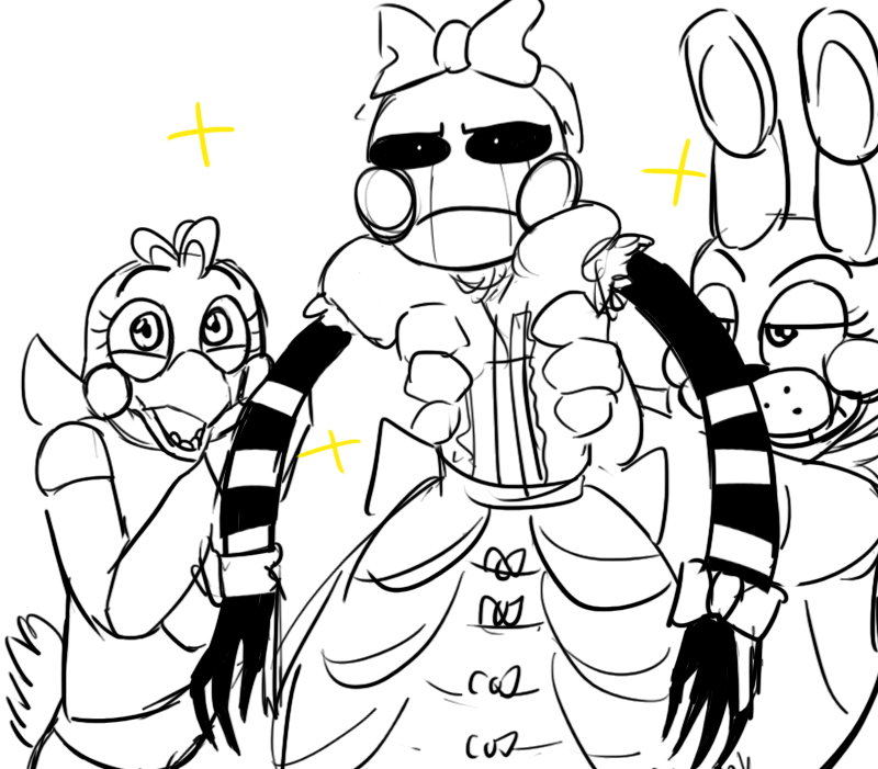 fnaf cute animatronics coloring pages - photo #2