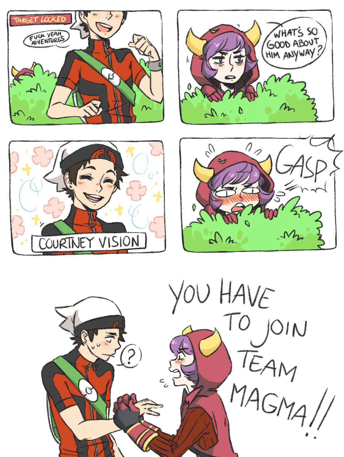 Dating a team magma grunt download itunes 2