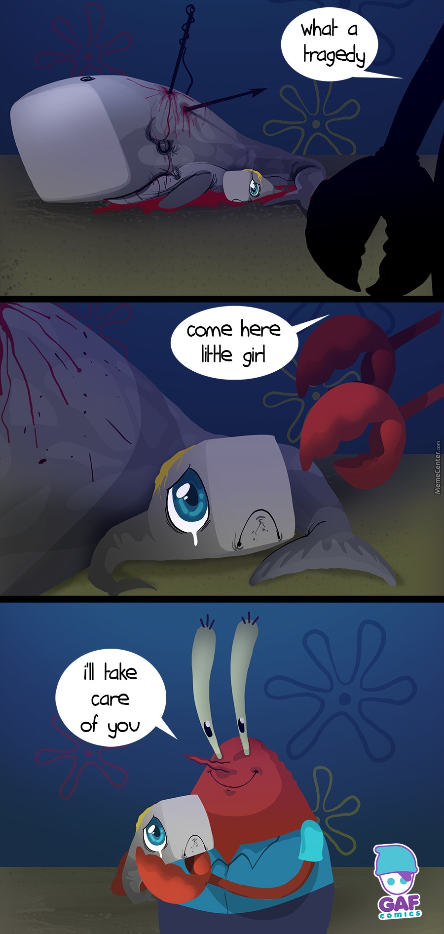 Why Mr. Krabs has a whale for a daughter | SpongeBob ...