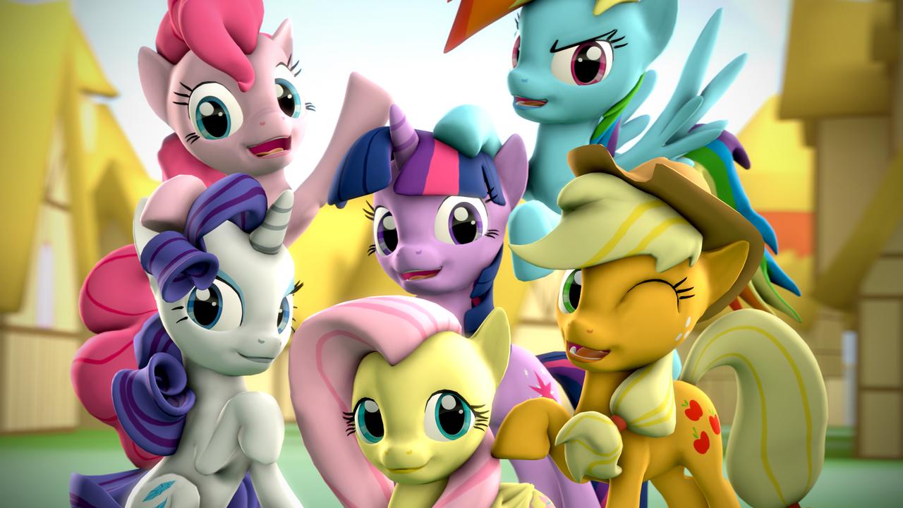 My Little Pony 3D