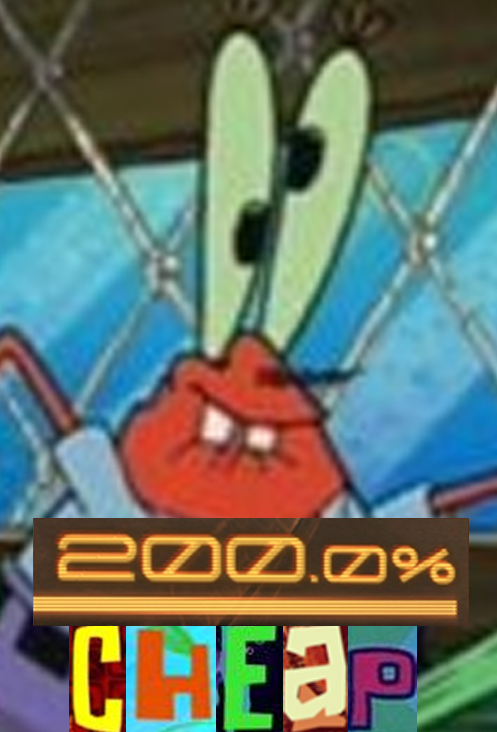 oh yeah mr krabs 200 mad know your meme