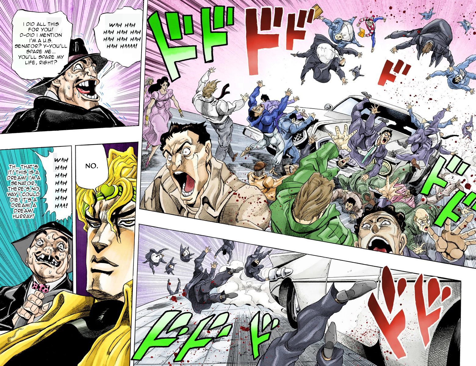 What Moment In Jojo Made You Laugh Unexpectedly