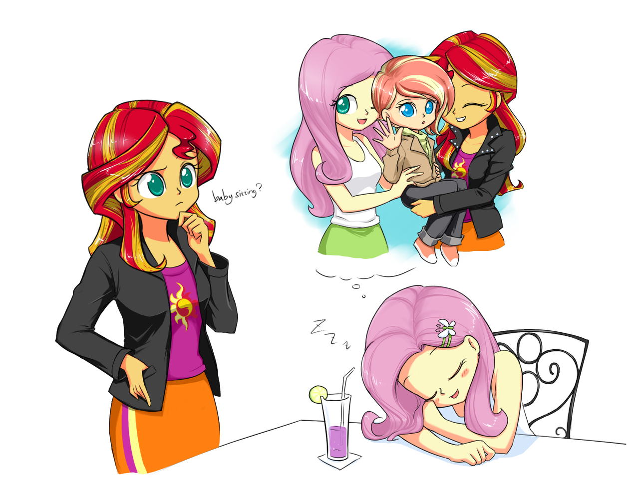 Yeah Baby Sitting My Little Pony Equestria Girls