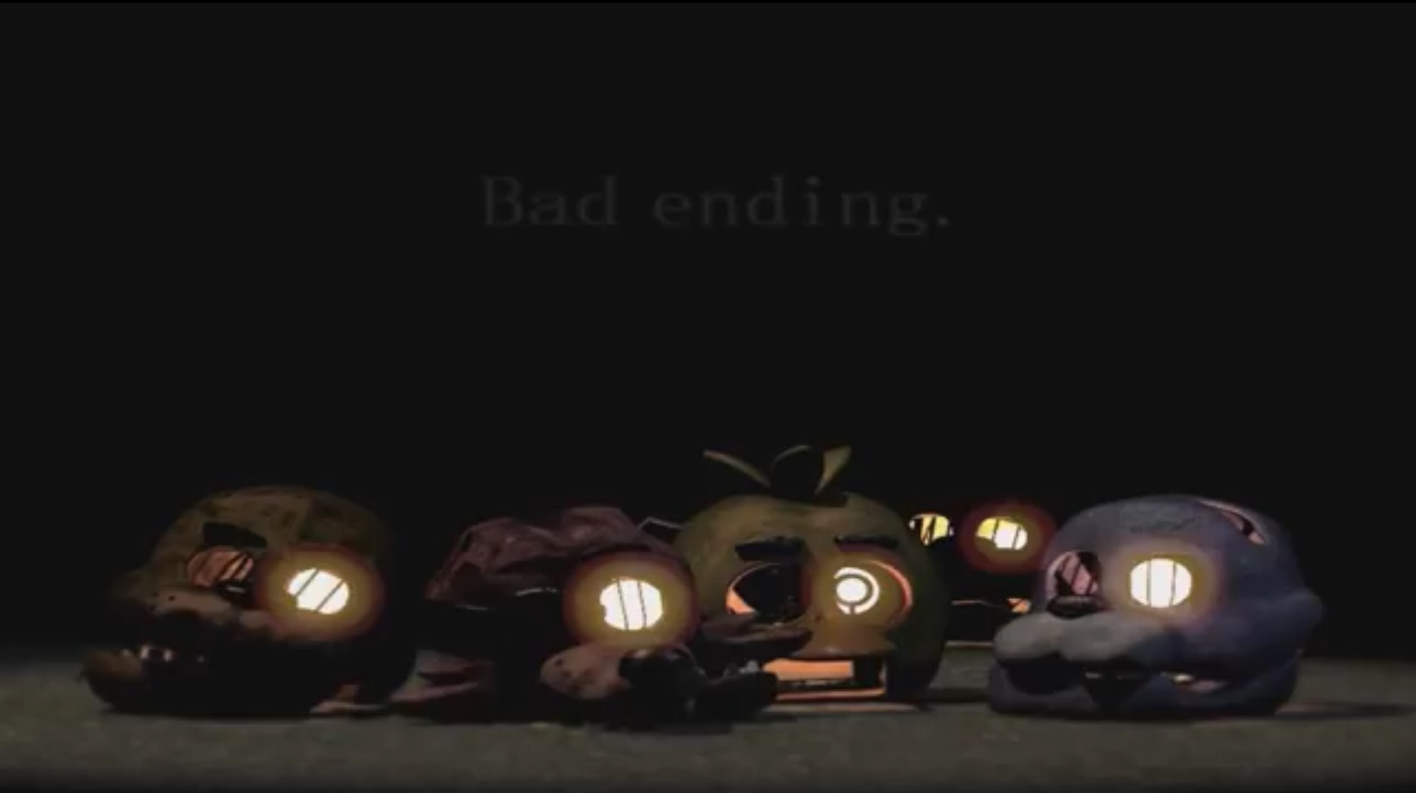 Bad ending... | Five Nights at Freddy's | Know Your Meme
