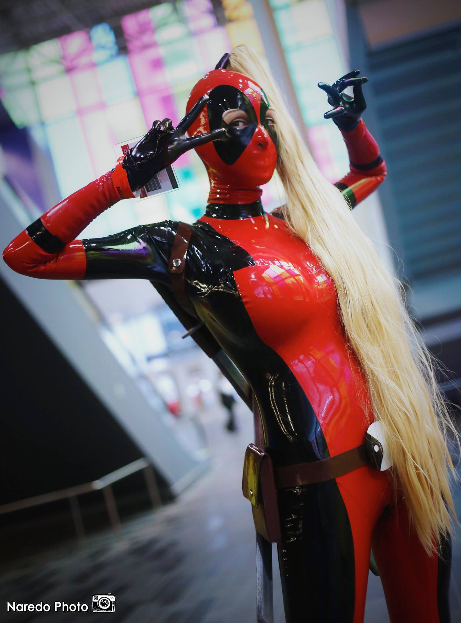 ariane saint amour cosplay Lady Deadpool... hot chick! by Ariane-Saint-Amour