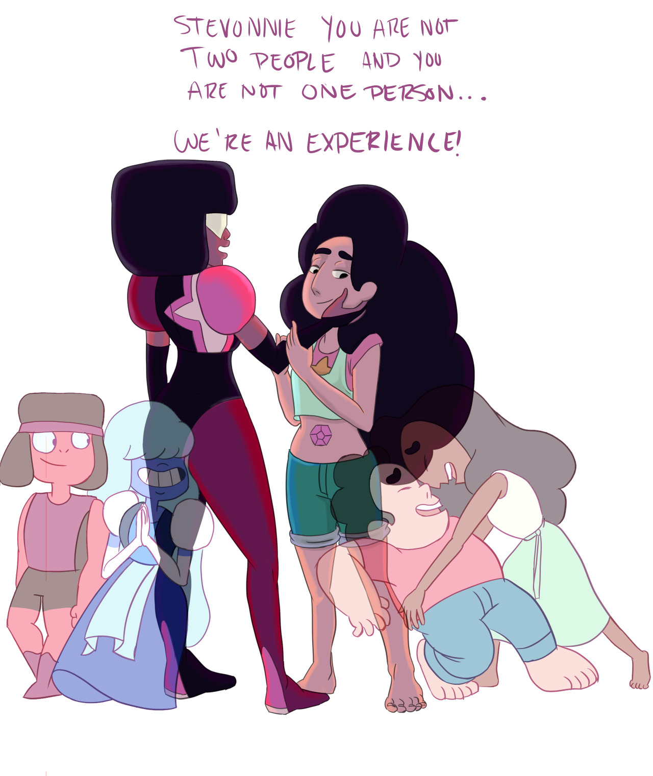 Garnet and Stevonnie by arbee-antonio | Steven Universe ...