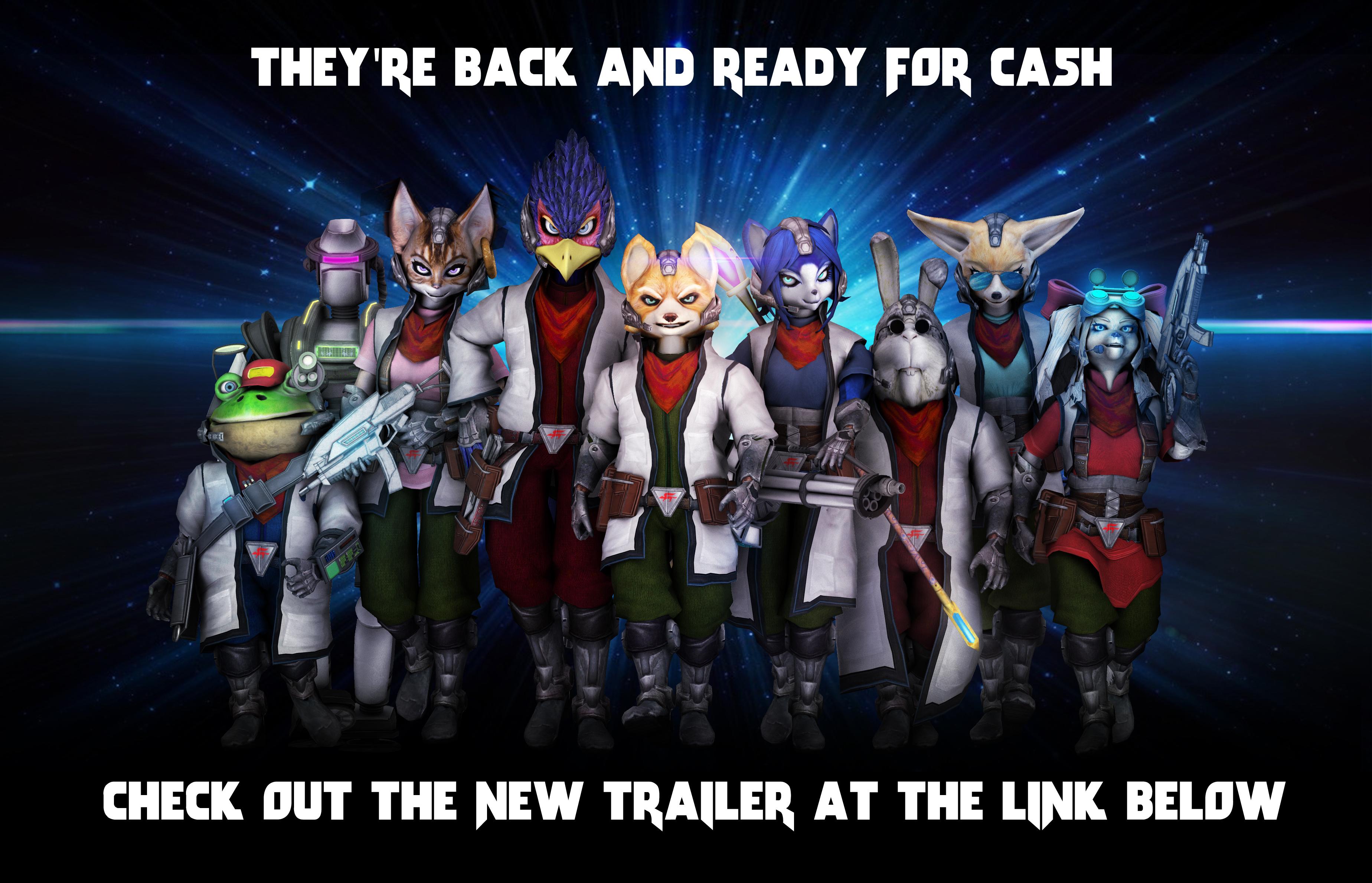 B Star Fox Characters