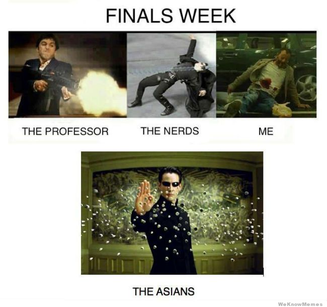 Finals Week: Level Asian | Finals Week | Know Your Meme