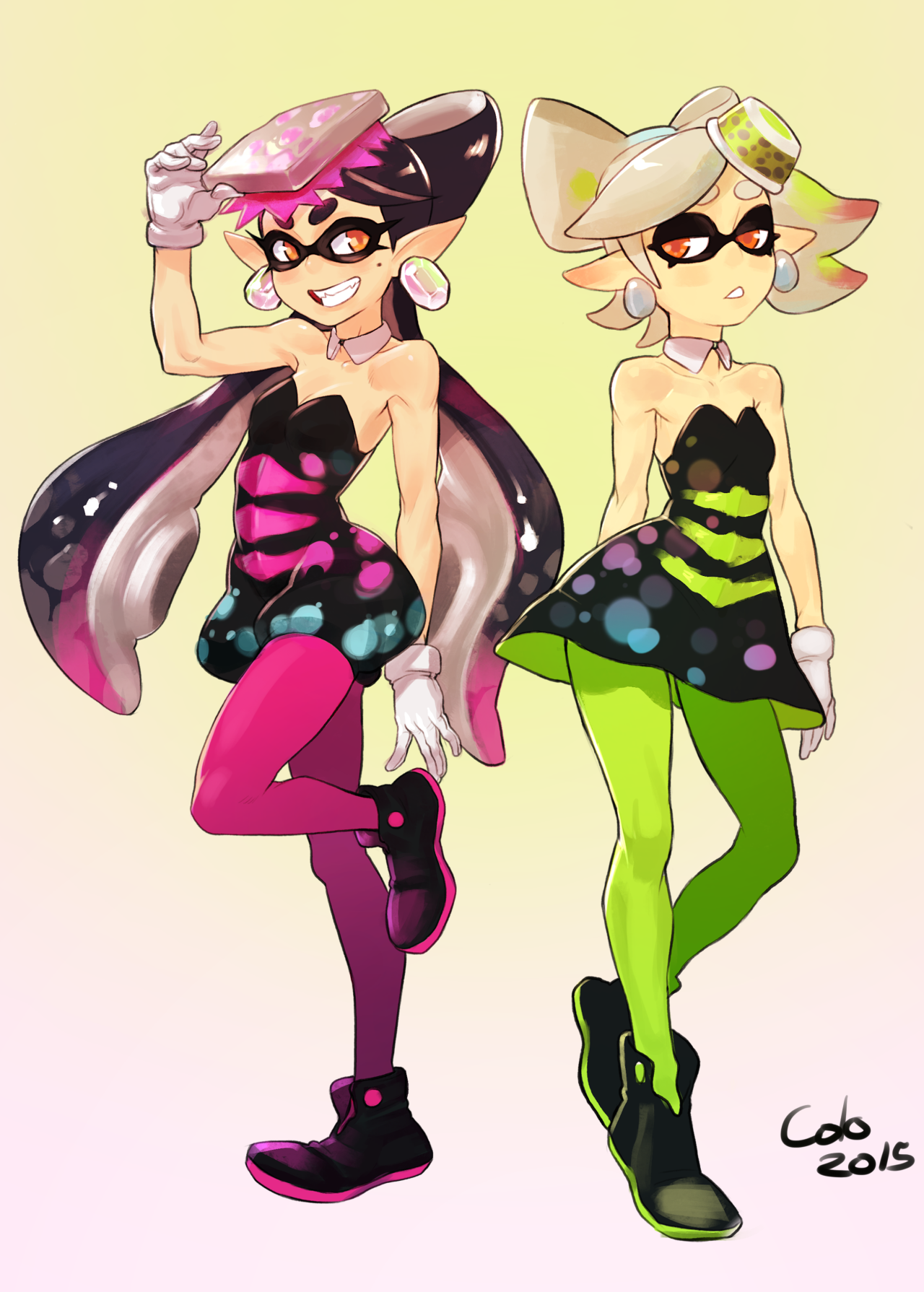 More Callie And Marie Fanart Is Always A Good Thing