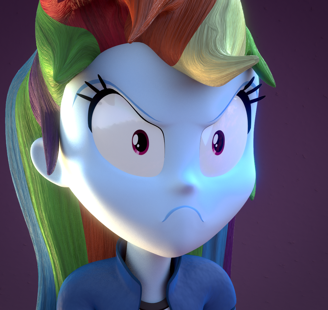 Angry Face My Little Pony Equestria Girls Know Your Meme