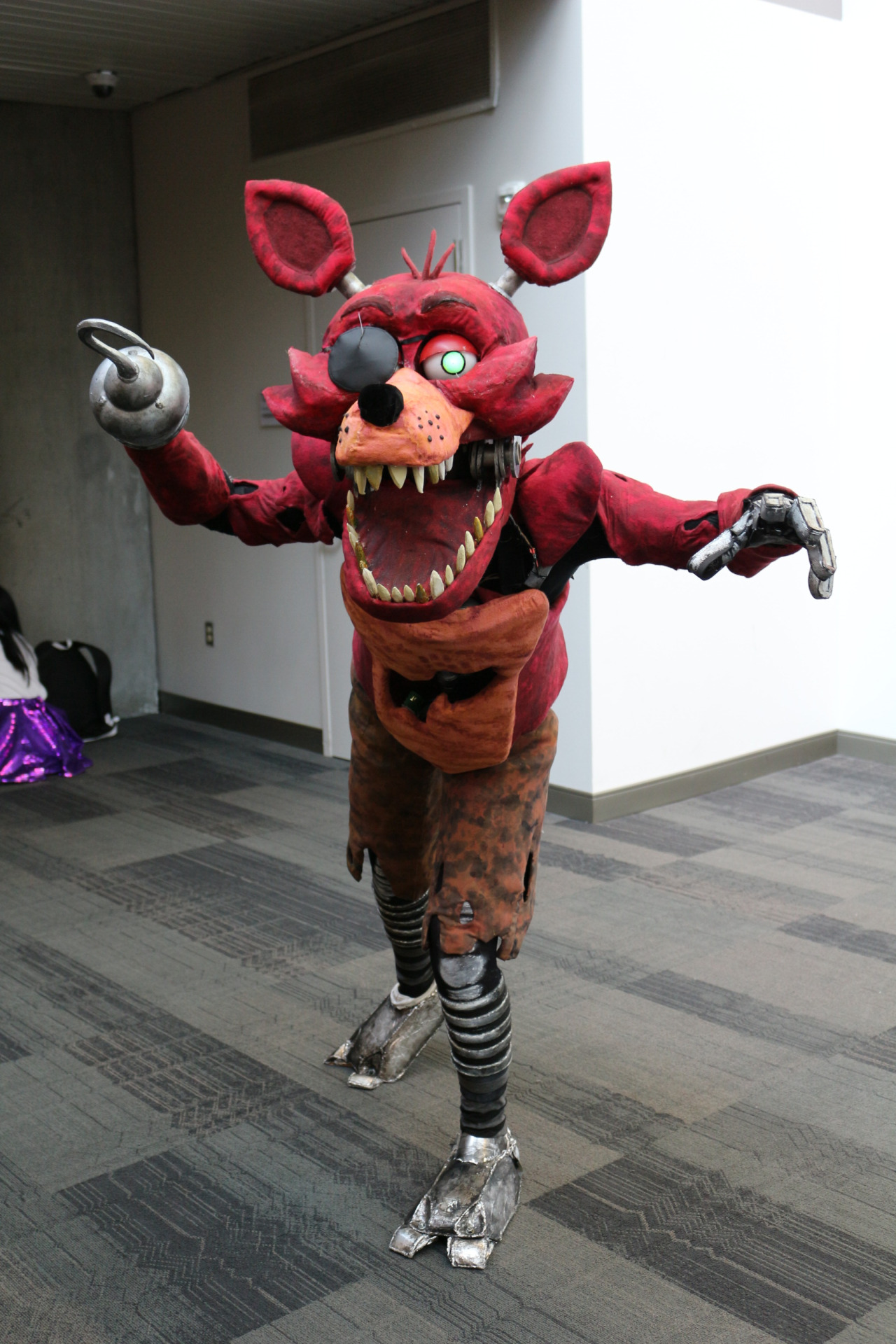 Foxy cosplay five nights at freddy s know your meme
