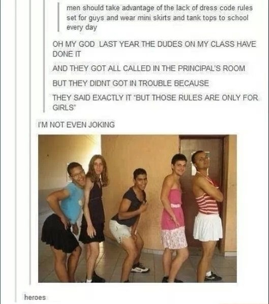 Dress Code Tumblr Know Your Meme