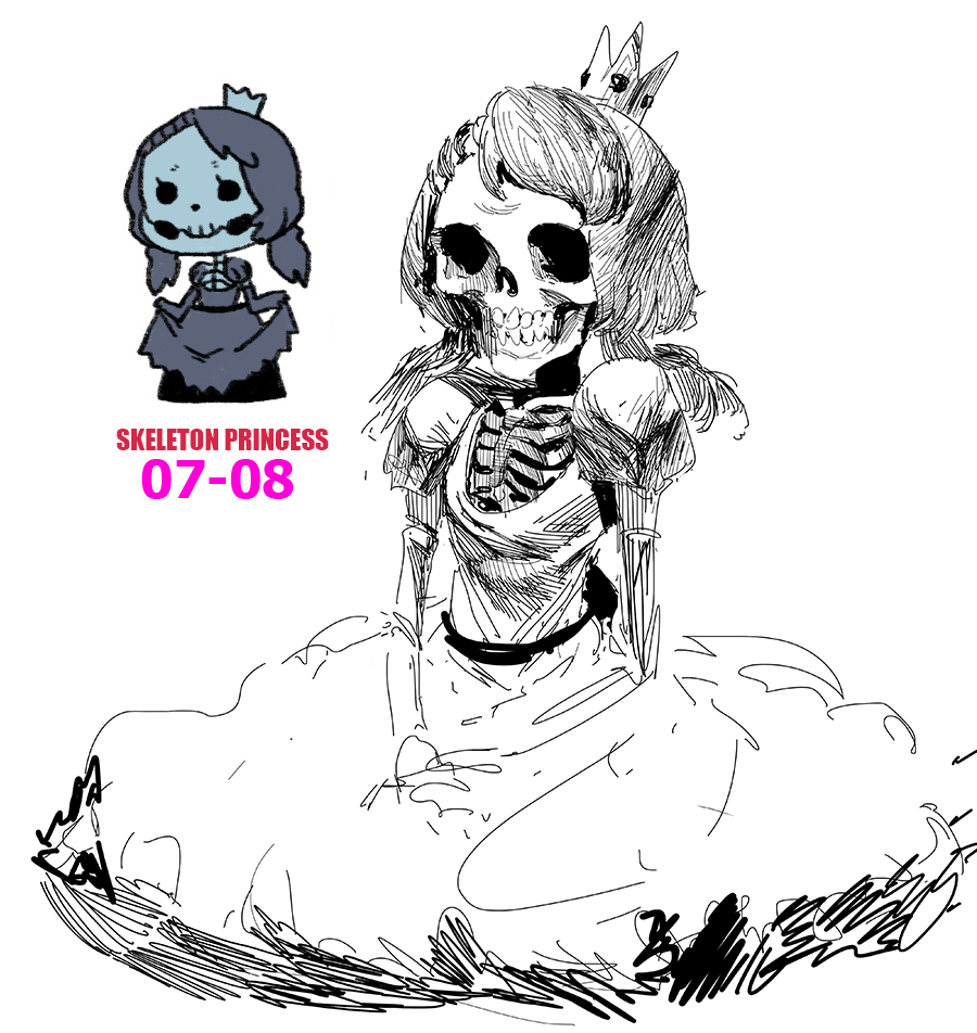Skeleton Princess Towergirls Know Your Meme Twilight Princess Skeleton