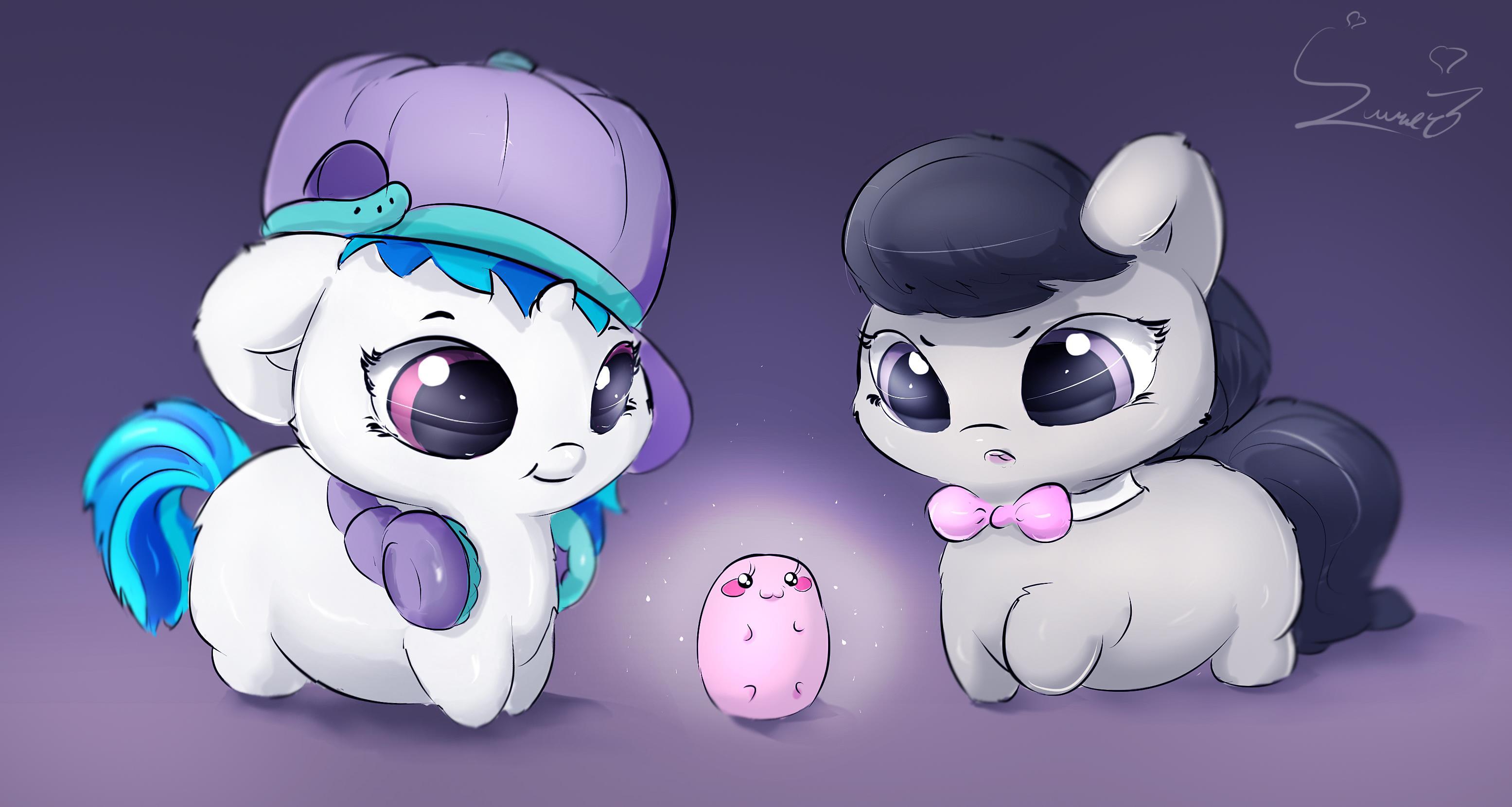 Magical Kawaii Potato Appears My Little Pony