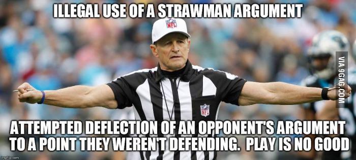 Image result for straw man meme