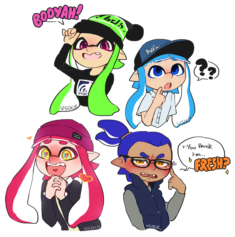 Woomy Doodles Splatoon Know Your Meme