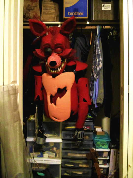 Foxy In The Closet Five Nights At Freddy S Know Your Meme