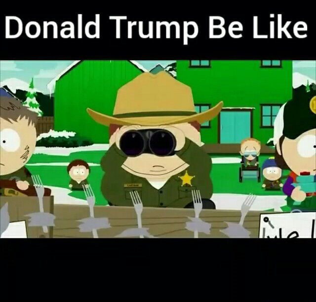 South Park did it first | Donald Trump | Know Your Meme
