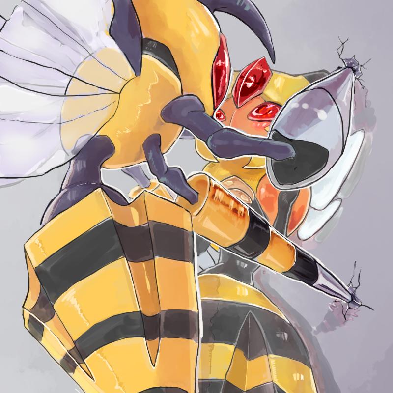 Mega Beedrill and Vespiquen | Pokémon | Know Your Meme