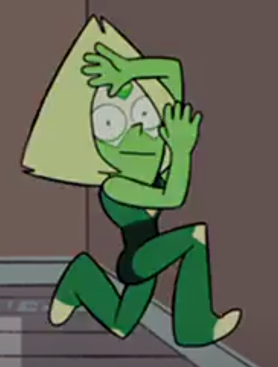 Image result for peridot runs into wall