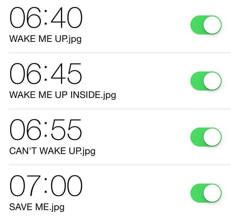 how to tell yourself when to wake up
