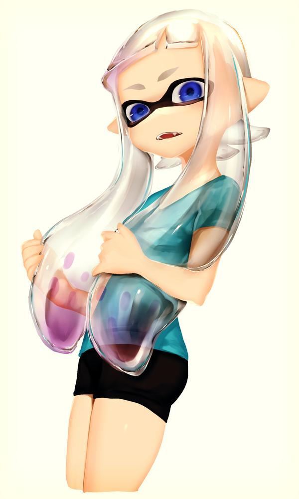 Inkling Girl Has No Color Splatoon Know Your Meme