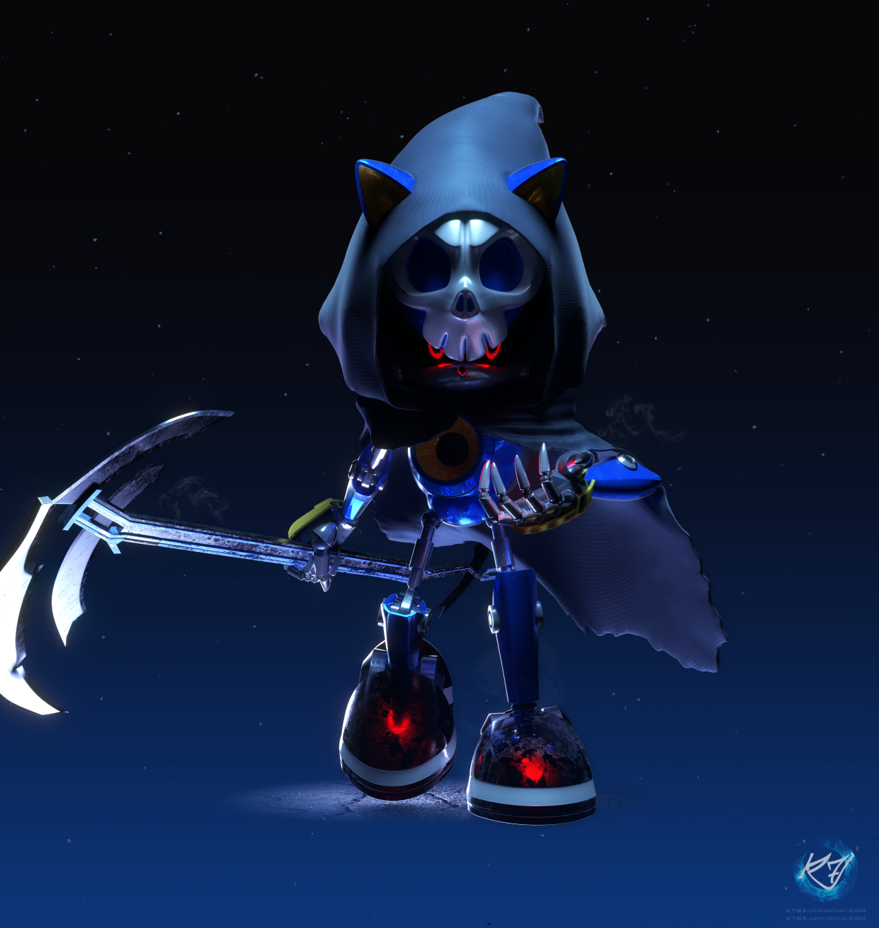 Reaper Metal Sonic The Hedgehog Know Your Meme