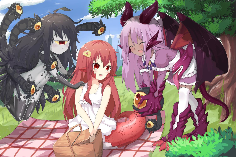 Anime Monster Mädchen