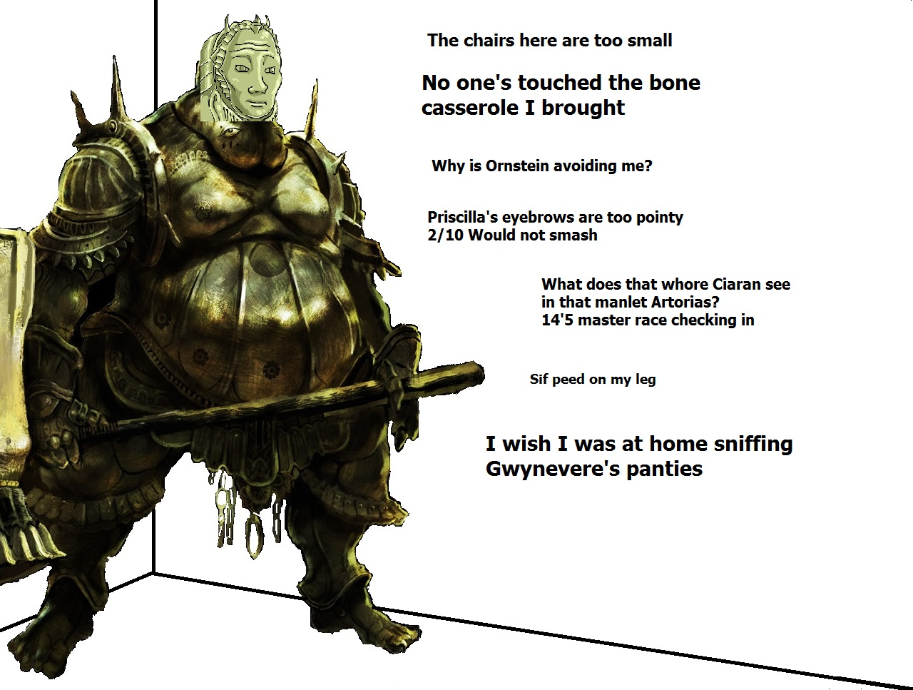 Smough at the party   Dark Souls   Know Your Meme