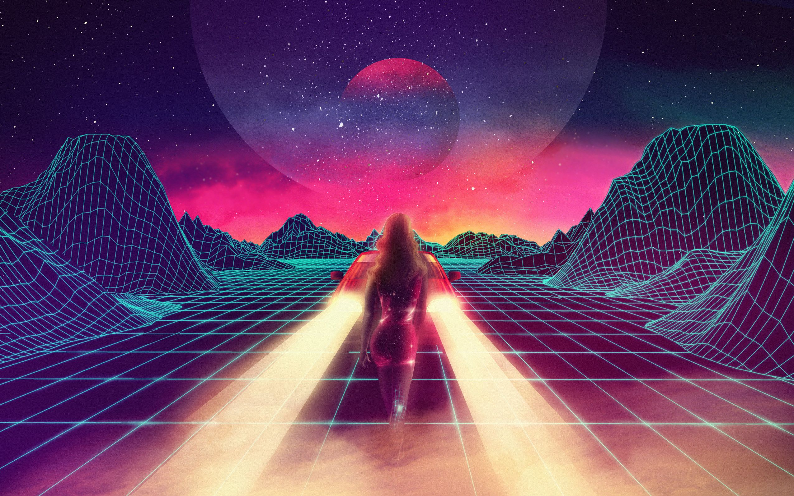 Looking For Outrun 80s Style Backgrounds Or Wallpapers Outrun