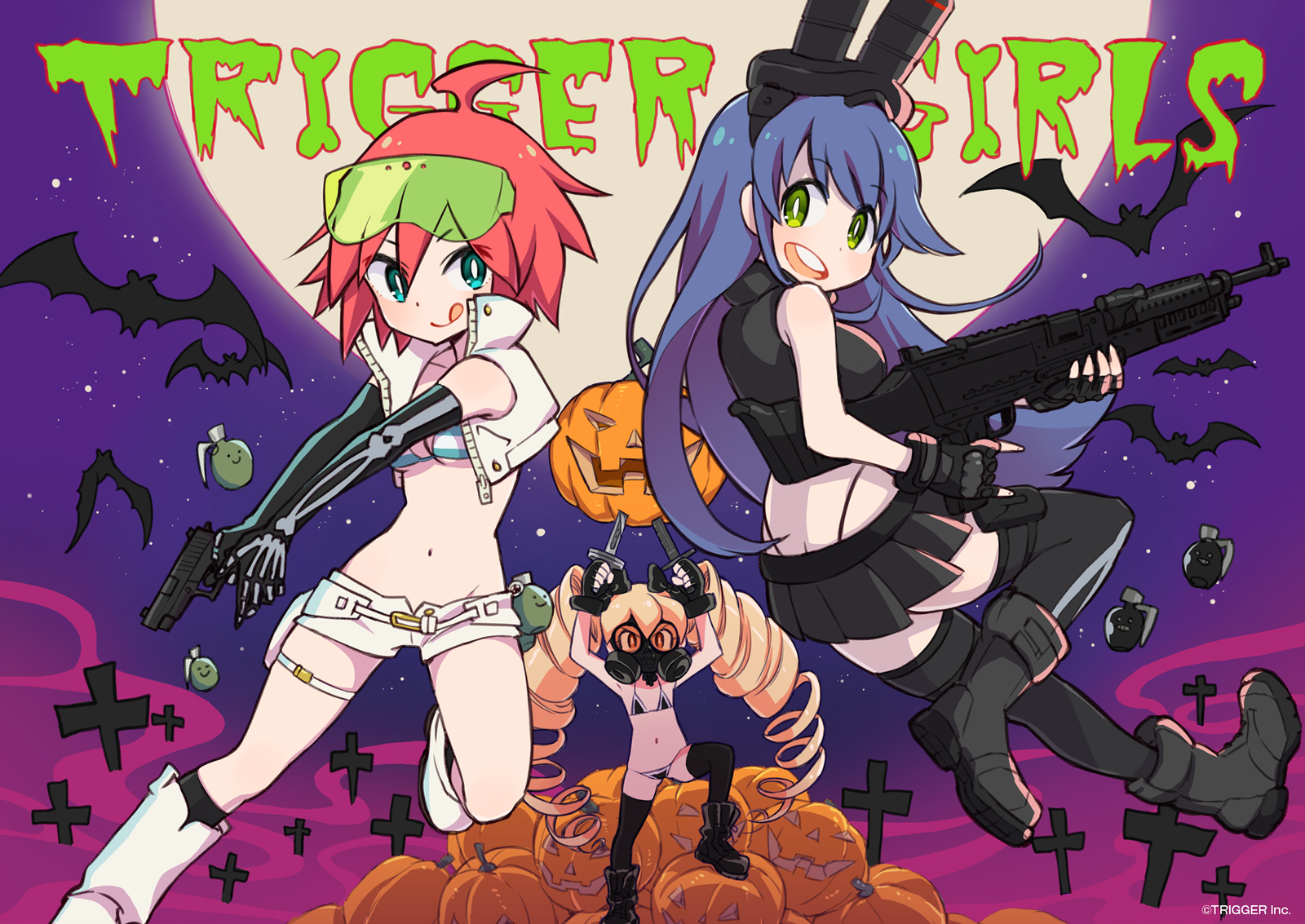 Trigger Anime Characters : Image gallery studio trigger