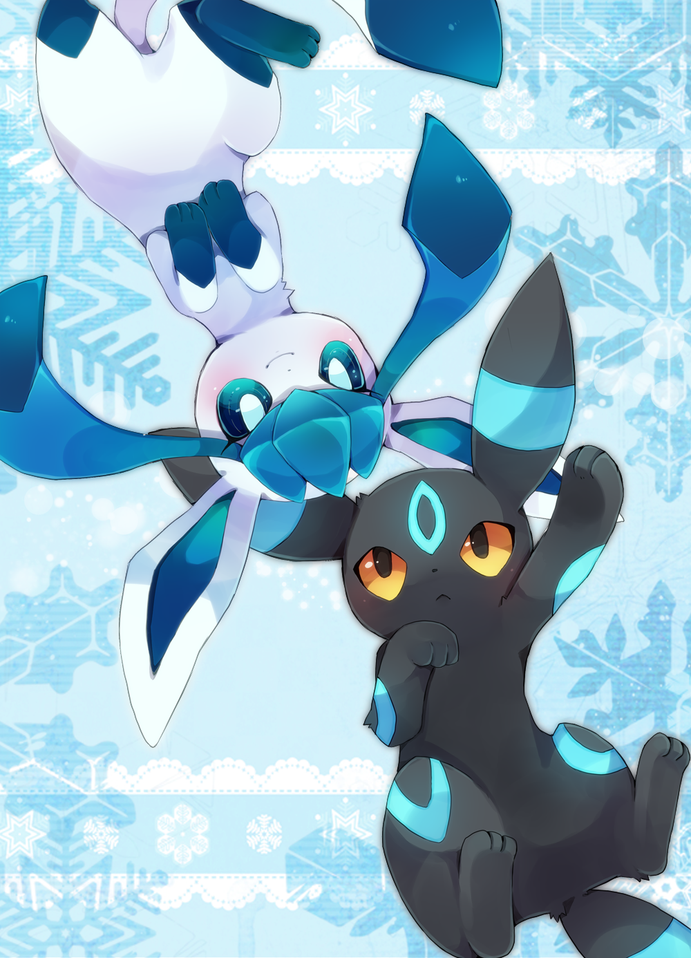 Umbreon And Glaceon Love Story