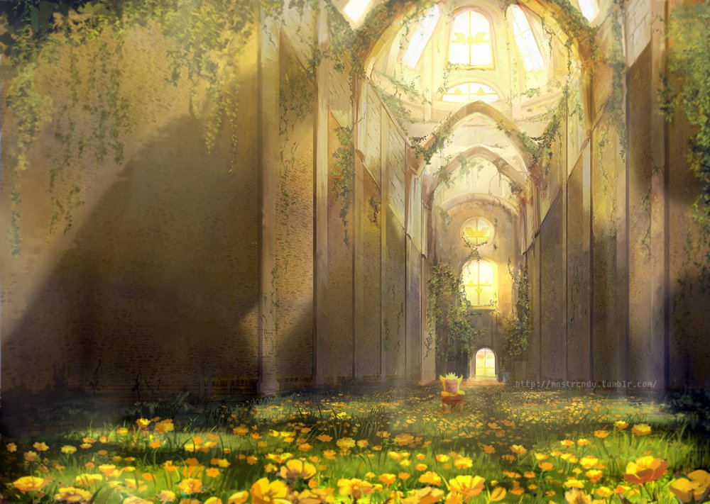 Asgore S Throne Room Fanart