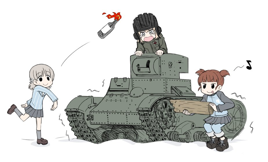Winter War Jpg Girls Und Panzer Know Your Meme