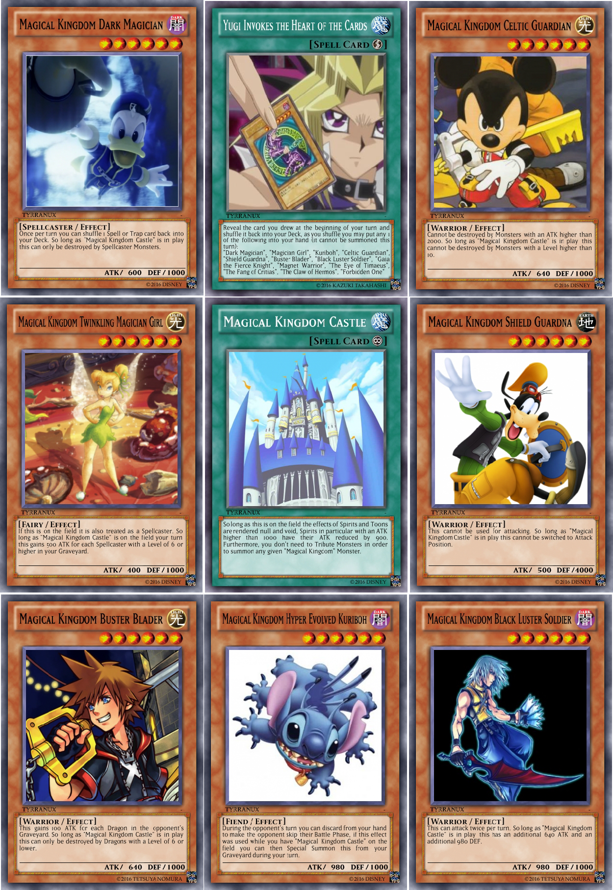 Terry S Shitty Yu Gi Oh Cards Yami Yugi S Deck Support