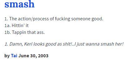 Urban Dictionary Definition | Lemme Smash | Know Your Meme