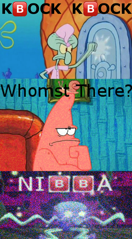Knock Knock Whomst Know Your Meme