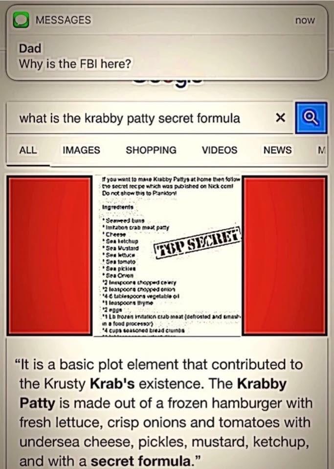 Real Krabby Patty Secret Formula Krabby Patty Se...