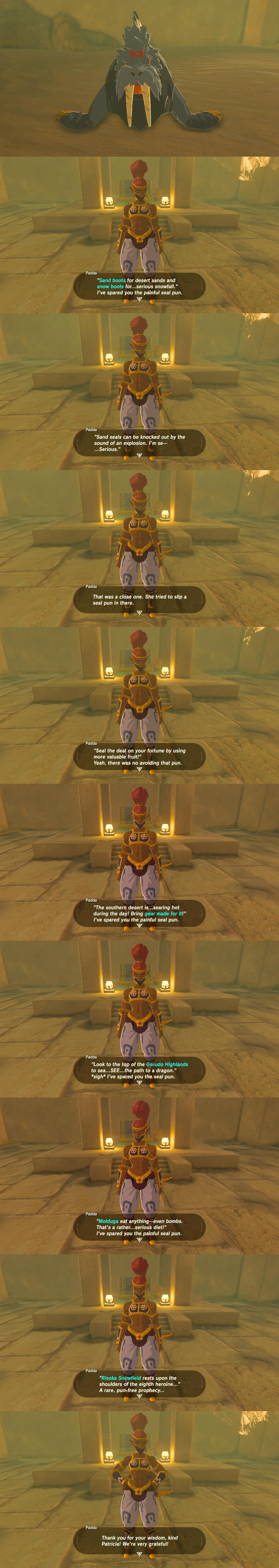 The Legend of Zelda: Breath of the Wild / Funny - TV Tropes