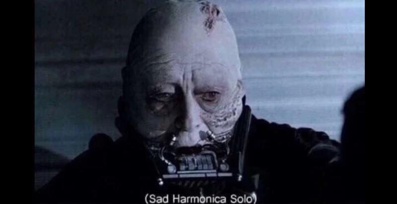 Darth Vaderu0026#39;s Sad Harmonica Solo : Star Wars : Know Your Meme
