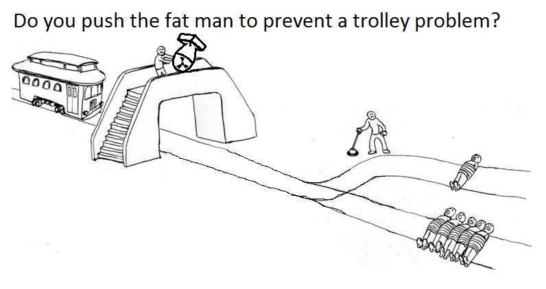 Little Kid Trolley Problem