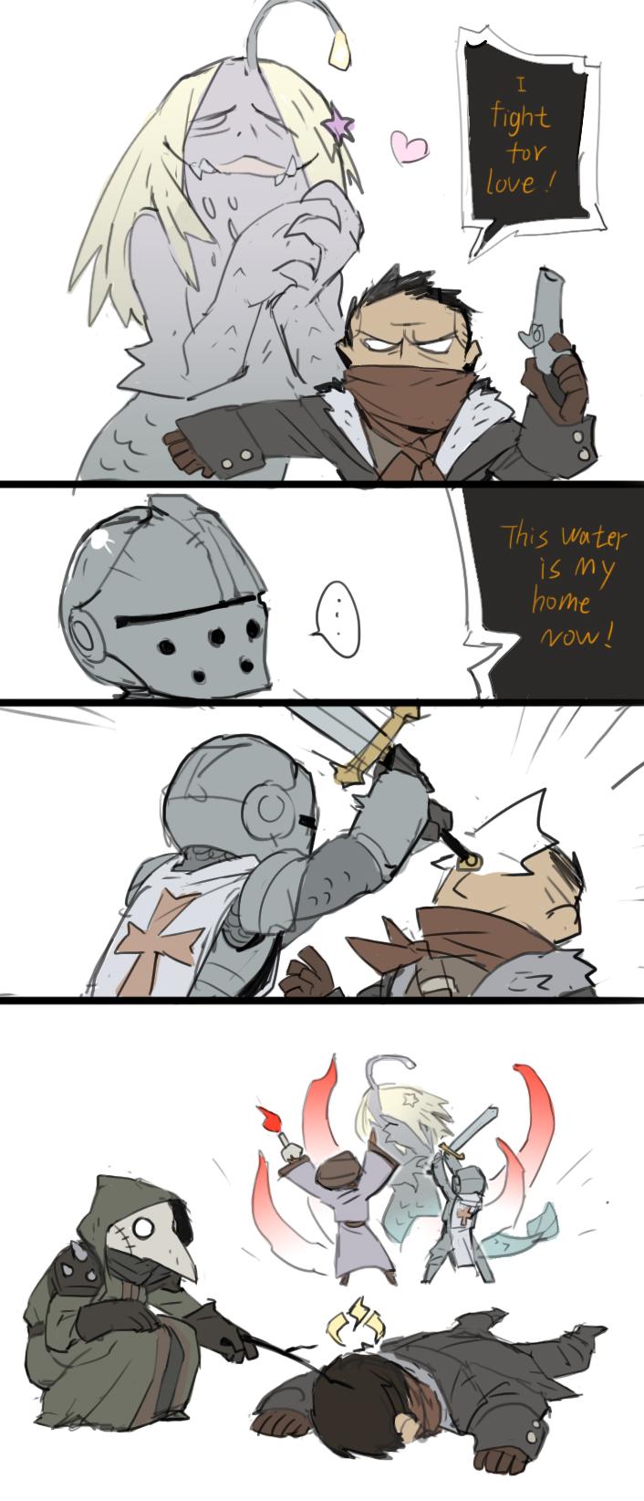 Fight for love   Darkest Dungeon   Know Your Meme