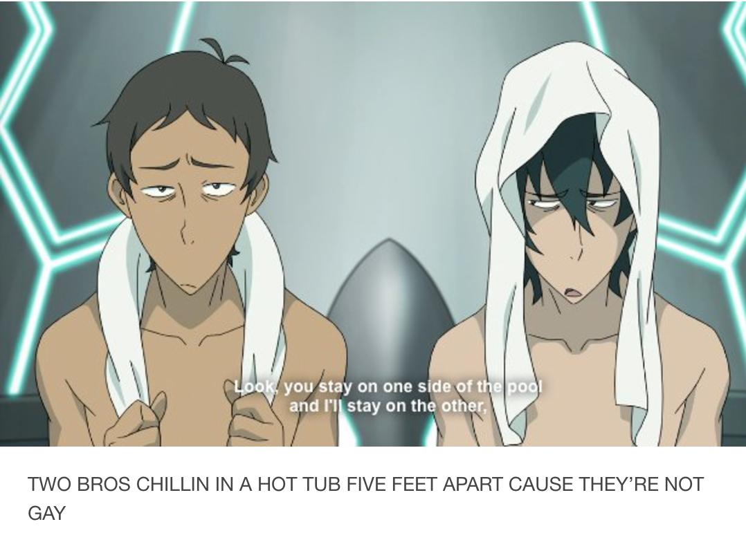 voltron two bros chillin 39 in a hot tub know your meme. Black Bedroom Furniture Sets. Home Design Ideas