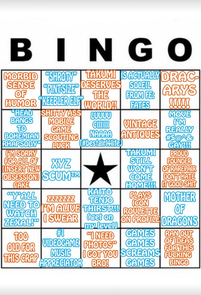 custom bingo cards image gallery know your meme