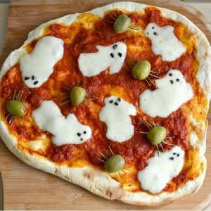 Spooky Pizza
