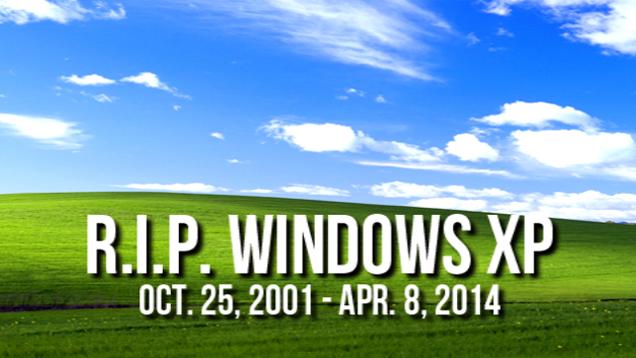 R.I.P Windows XP